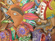 I am in love with Mexican pottery!
