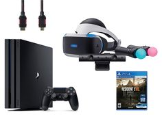 PlayStation VR Start Bundle 5 Items: VR Start Bundle,PS 4 Pro 1TB,VR game disc Resident Evil 7: Biohazard   Includes: VR headset, Processor unit, VR headset connection cable, HDMI cable, USB cable, Stereo Read  more http://themarketplacespot.com/playstation-vr-start-bundle-5-items-vr-start-bundleps-4-pro-1tbvr-game-disc-resident-evil-7-biohazard/