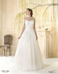Tiara | Villais Romantic 2016 Wedding Dress - 1