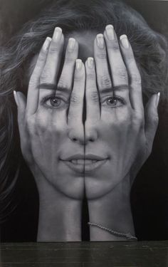 Millenium: Optical Illusion Portraits by Tigran Tsitoghdzyan