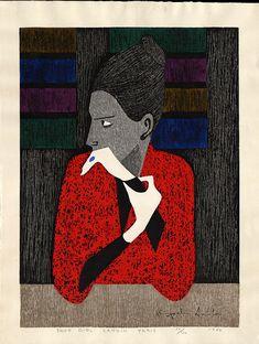 Shop Girl Cardin Paris - Saitō Kiyoshi, 1907 - 1997, (b.Aizubange, Fukushima)