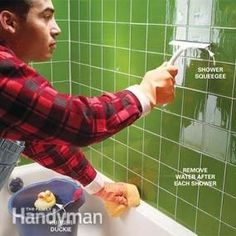 Free bathroom cleaning cheat sheet download!