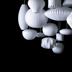 """George Nelson created the """"Bubble Lamp"""" line for Howard Miller in 1947"""