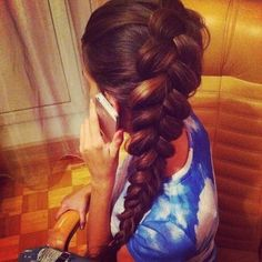 Grow Lust Worthy Hair FASTER Naturally} ========================== Go To: www.HairTriggerr.com ==========================       Big Beautiful Fluffed Out Braid!