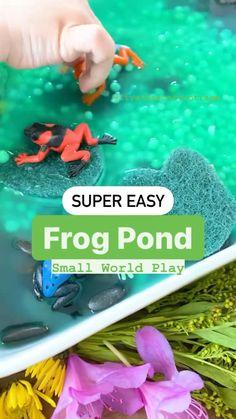 Baby Sensory Play, Sensory Activities For Toddlers, Outdoor Toddler Activities, Toddler Sensory Bins, Fun Activities For Toddlers, Preschool Learning Activities, Baby Learning, Infant Activities, Toddler Fun