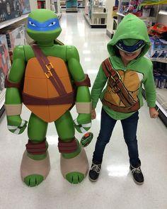 My daughter is the coolest.  #Leonardo #NinjaTurtles #tmnt