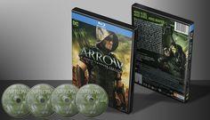 Arrow - Quarta Temporada Completa (Oficial) - Capa   VITRINE - Galeria De Capas - Designer Covers Custom   Capas & Labels Customizados