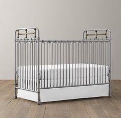 Winslow Iron Crib   Cribs   Restoration Hardware Baby & Child