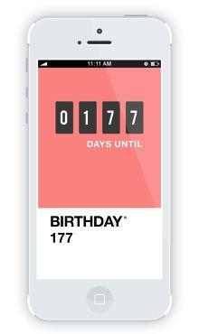 Pantone Countdown App - Tin Nguyen