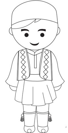 athens clothing coloring pages - photo#33