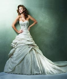 Maggie Sottero - Sweetheart A-Line Gown in Tulle