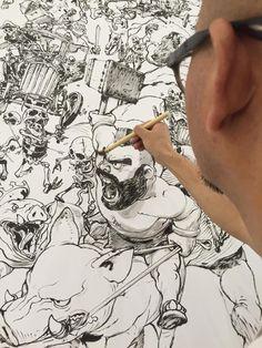 Que Senhor... drawing #illustration #kimjunggi
