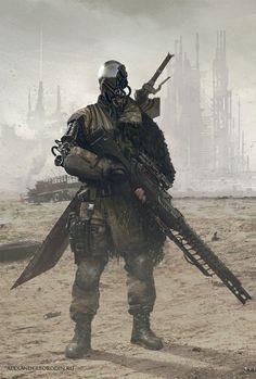 Cyber Soldier by Lensar on DeviantArt