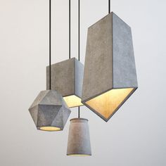 Wonderful Concrete Lamps That Will Catch Your EyeYou can find Concrete lamp and more on our website.Wonderful Concrete Lamps That Will Catch Your Eye Concrete Light, Concrete Lamp, Concrete Design, Concrete Crafts, Concrete Projects, Interior Lighting, Lighting Design, House Lighting, Lighting Ideas