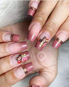 Gel Nails, Acrylic Nails, Fire Nails, Pretty Nail Art, Finger, Nail Shop, Nail Arts, Nails Inspiration, How To Do Nails