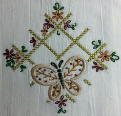 Embroidered Dish Towel - Gift