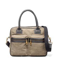 Combined Fabric Briefcase - Zara Price: £39.99