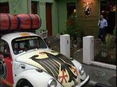 Quatro amigos a bordo de um Fusca viajaram 14 mil km de SC até Ushuaia