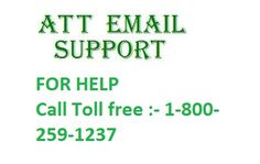 If you are facing any type of email related problem. Then please call us :- 1-800-259-1237 (TOLL FREE). Our ATT Email support are here to assist better.