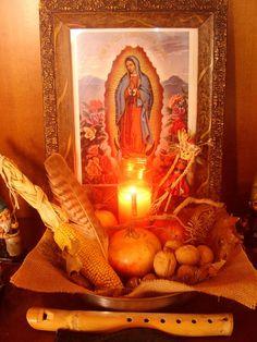 Mother Goddess Autumn altar