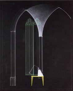 """Bühnenbildentwurf zu """"Faust. Der Tragödie Erster Teil"""" (Projekt), Dessau  Roman Clemens, 1928"""