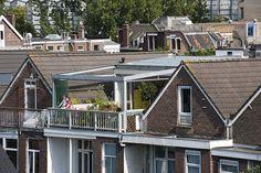 """Arquitetos holandeses transformam sua casa em um """"paraíso urbano"""""""