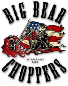 Big Bear Choppers, Big Bear Lake, Sign, Motorbikes, Motorcycles
