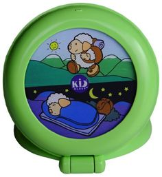 The Kid'Sleep Globetrotter helps kids stay in bed until it is time to get up. If the sleeping sheep is lit, kids know to stay in bed. When the awake sheep is illuminated, it is okay to get out of bed and start the day. Kids Sleep, Baby Sleep, Light Alarm Clock, Alarm Clocks, Geometric Heart, Stay In Bed, Day For Night, Night Light, Little Boys
