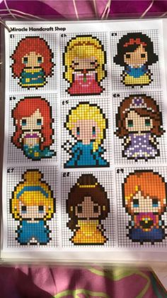 Fourth of July cross stitch disney princesses, punto . - Fourth of July cross stitch disney princesses, cross stitch baby sheets, - Perler Bead Designs, Perler Bead Templates, Diy Perler Beads, Pearler Bead Patterns, Perler Bead Art, Perler Patterns, Quilt Patterns, Hama Beads Disney, Disney Stitch