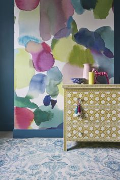 The New Wallpaper Trends Designers Are Obsessed With   - HouseBeautiful.com