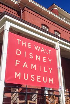 """Walt Disney Family Museum: Not all things Disney are in SoCal and this wonderful San Fran museum created by the Disney family should be on your """"must do"""" list."""