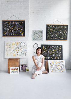 Flower Collage, Flower Artists, Wedding Branding, Pressed Flower Art, Diy Wedding Decorations, E Design, Interior Design, Abstract Wall Art, Botanical Art