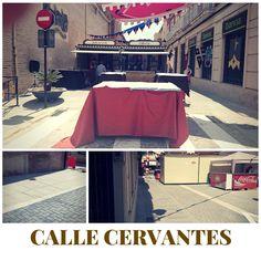 La #obra de la calle Cervantes en #Alboraya fue esta finalizada y de los primeros en estrenarla fue el mercado medieval que este fin de semana pasado se instaló en la plaza de la constitución y cercanías.