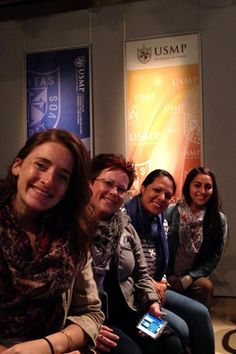 Our SkillCorps Peru team at a workshop hosted by Dr. Mapy Chavez!