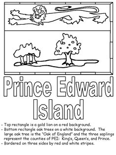 Just Coloring Pages: Coloring pages provincial flags of atlantic Printable coloring sheets - Flag Coloring Pages, Coloring Sheets, Canadian Provincial Flags, New Brunswick Flag, South America Continent, Geography For Kids, Enrichment Activities, Canada 150, Summer Books