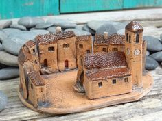 Miniature ceramic village   Flickr - Photo Sharing!