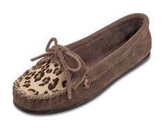 Limited Edition Leopard Kilty Moc - Dusty Brown