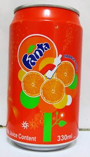 LATAS Y BOTELLAS COLECCIÓN: LATA FANTA ORANGE SODA TAIWAN  2012