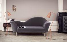 Shop the Grand Piano Sofa and more contemporary furniture designs by Gubi at Haute Living. Sofa Design, Scandinavia Design, Living Room Red, Piece A Vivre, Vintage Design, Style Vintage, Interiores Design, Contemporary Furniture, Grey Furniture