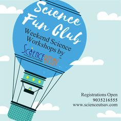 Does your child enjoy exploring, creating and discovering?  ScienceUtsav's Science Fun Club is the perfect place to take a deeper look at some of the phenomena around us every day. Think like a Scientist, Skill School, Be a researcher, Science of things around us, Fun with Chemistry, Exciting energy are just a few of the areas explored during these weekend science programs.  Register now for this up-close and personal science experience designed to provide kids with the tools to deeply…