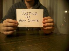 Assange photo Justice for Aaron Swartz | Anonymous ART of Revolution http://www.thextraordinary.org/aaron-swartz
