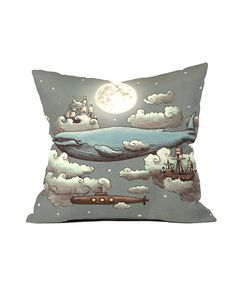 Look what I found on #zulily! Ocean Meets Sky Throw Pillow by DENY Designs #zulilyfinds