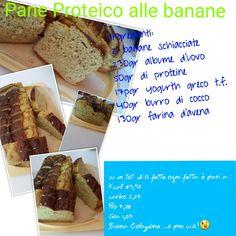 Pane proteico alla banana
