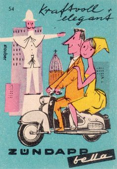 The World's Best Photos of matchbox and étiquettes Retro Ads, Vintage Advertisements, Vintage Ads, Vintage Posters, Vintage Prints, Art Illustration Vintage, Graphic Design Illustration, Graphic Art, Matchbox Art