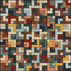 Lets Quilt Something: Retro Cabin - Free Quilt Pattern ...