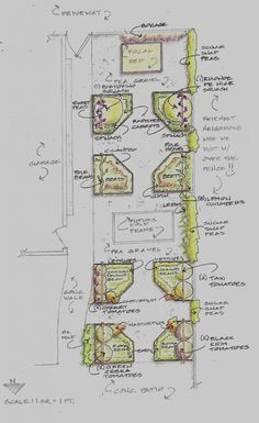 2011 Kitchen Garden Plan; click on plan for a larger image