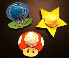 Super Mario cupcakes