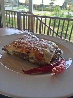 Lasagna di Mariano #acelga #calabaza #verduras #muzzarella #sugerencias de la #semana