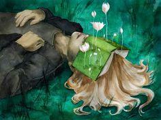 I've lost my mind in books Artist: Beatriz Martin Vidal