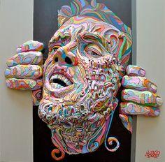 shaka #3D #paintings